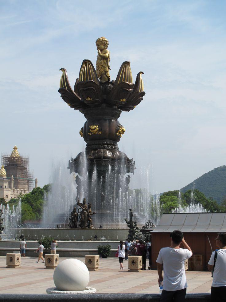 Lingshan Great Buddha, 灵山大佛 Língshān Dà Fó