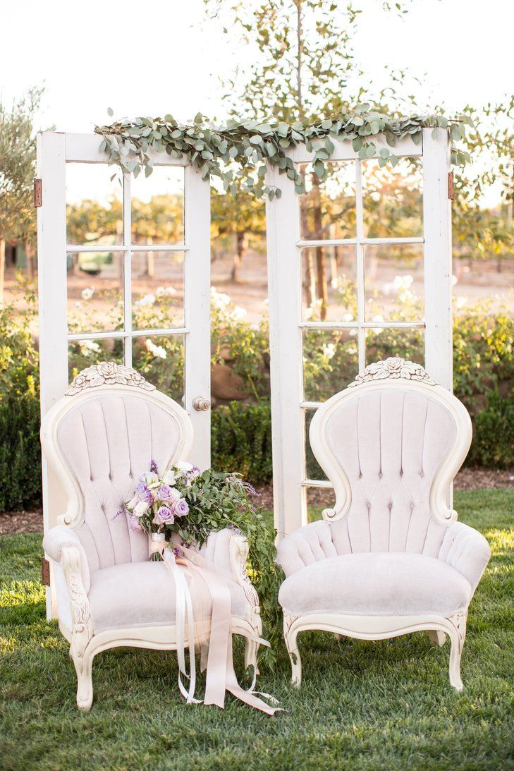 Lavender Vintage-Inspired French Chairs | Alchemy Fine Events & Invitations https://www.theknot.com/marketplace/alchemy-fine-events-and-invitations-cardiff-ca-536134 | Birds of a Feather https://www.theknot.com/marketplace/birds-of-a-feather-los-angeles-ca-645928