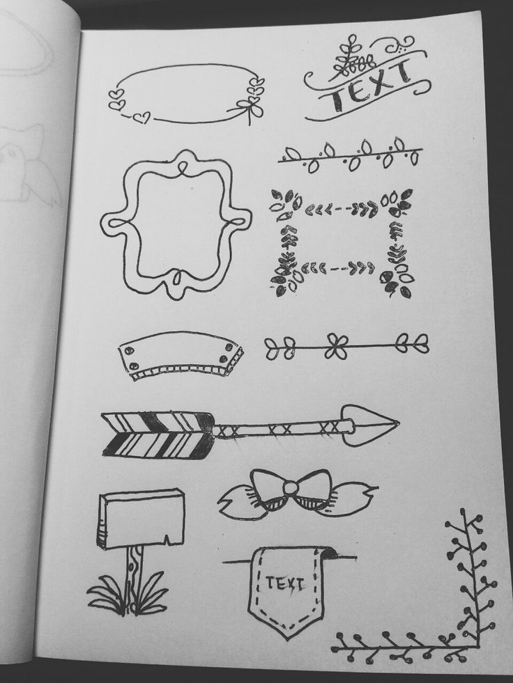 Image result for bullet journal headers and banners