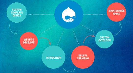 Our team of professional Drupal Developers understand every project lifecycle and go throgh complete phases including pre-analysis, planning, analysis, design, development, testing, deployment and delivery, which provide you positive outcomes with great end results.