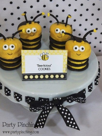 19 Best Bee Party Images On Pinterest
