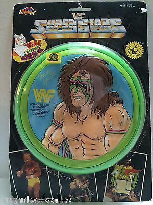 (TAS008571) - WWE WWF WCW Wrestling Radical Flying Disc - Ultimate Warrior