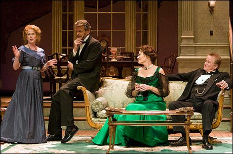 Julia Duffy, Marc Singer, Kelly McGillis and Steve Vinovich in The Little Foxes -Pasadena Playhouse production Photo by Craig Schwartz  - Playbill.com