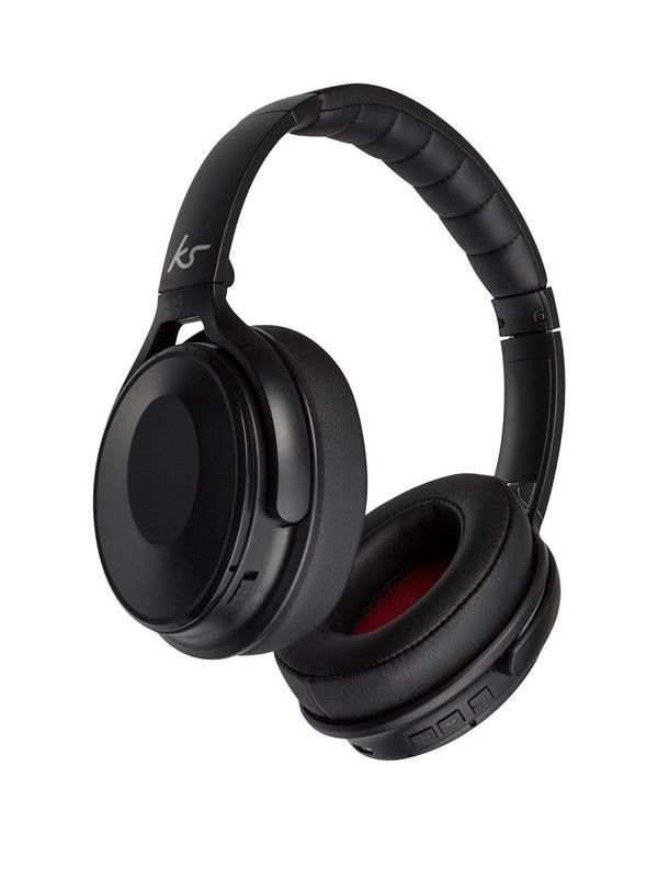 09be505b4426f1 Genuine KitSound Immerse Wireless Bluetooth Headphones with Noise  Cancellation | best-headphones-review | Headphones, Bluetooth headphones,  Wireless ...