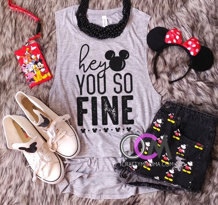 Oh Mickey You so Fine Shirt, Oh Mickey You so Fine Disney Tank, Hey Mickey Shirt, Disney Squad Tank, Ladies Disney Tank- Muscle Tank 22.99