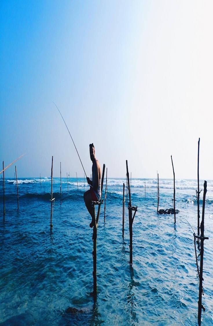 A guide to the Stilt Fishermen of Unawatuna, Sri Lanka