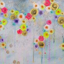 Flower painting, by Vigo.