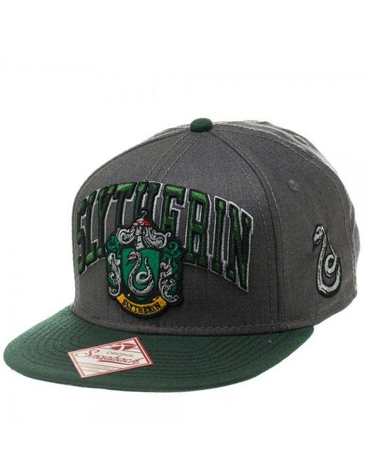 Harry Potter Cap, Mens Slytherin Snapback