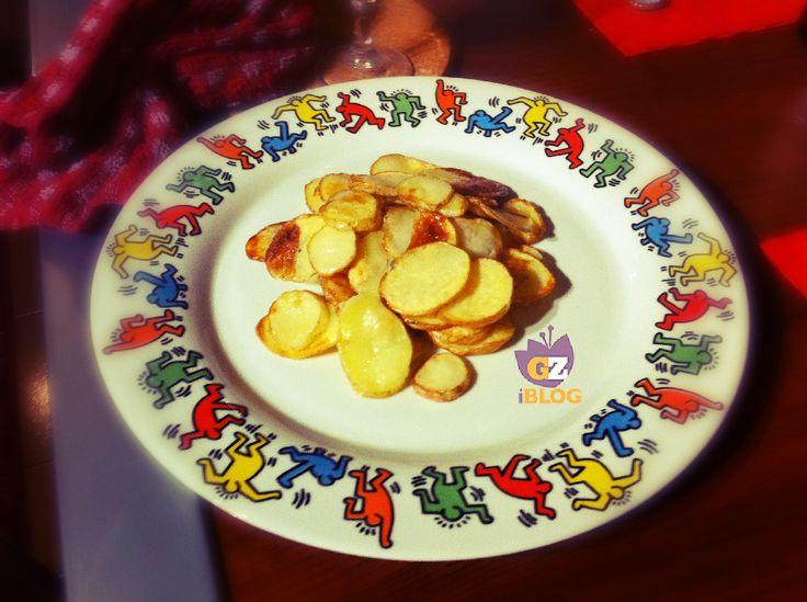 Patate con buccia al forno....  #patata #ricetta #contorno #patatine #blogGZ