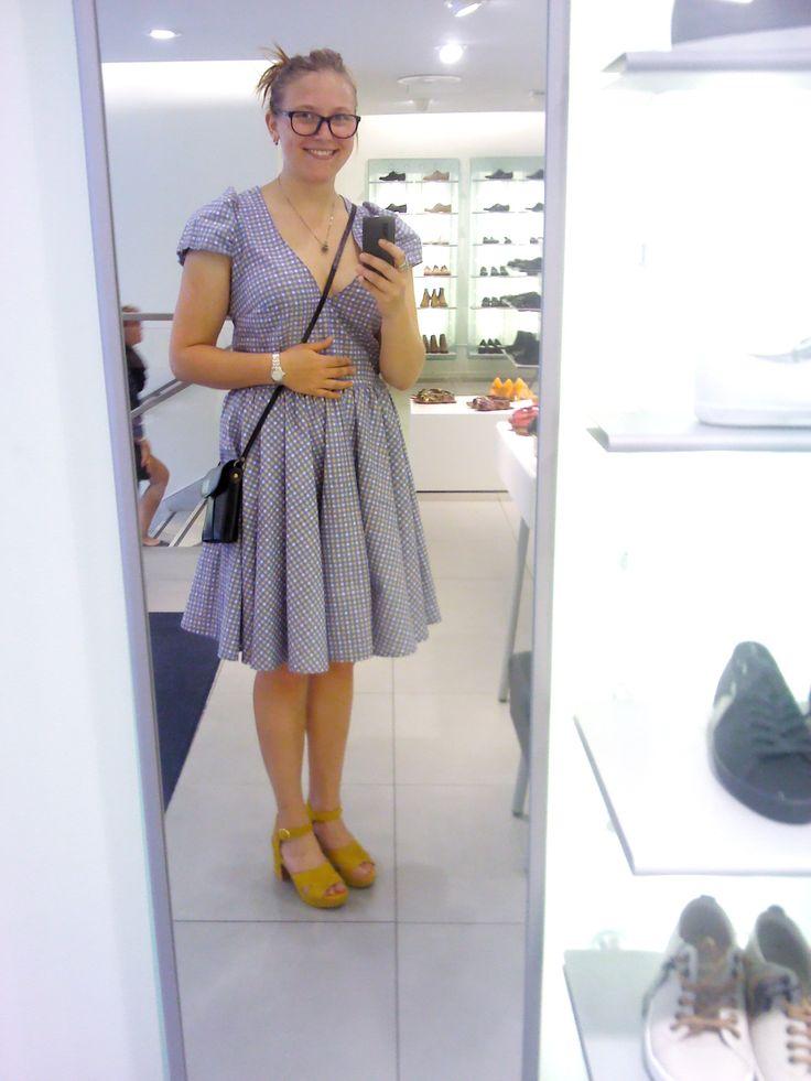 Klänningen och inget annat ^^