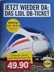 #Ticket  1x Lidl Bahnticket ICE IC EC Fahrkarte -Blitzversand Bahn Ticket per Mail #belgium