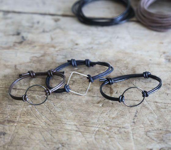 DIY - Bracelet in leather