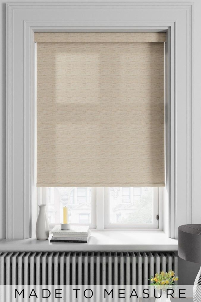Natural Made To Measure Roller Blind
