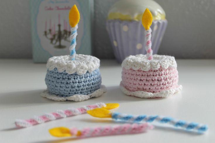 Bagvrk til slikbutik Crochet Crochet food and Play food