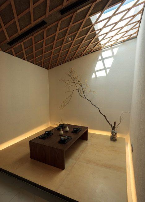 art villas - lotte jeju resort - jeju island - kengo kuma