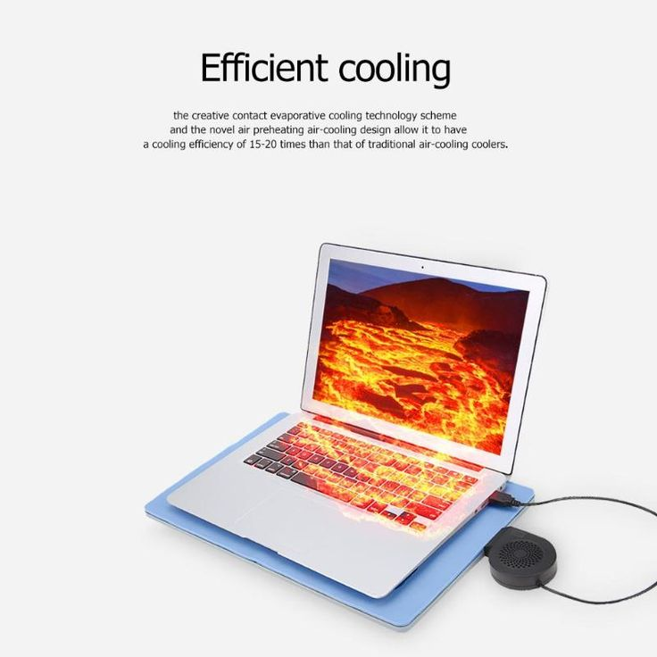 Not Miss Silicone Laptop Cooler Contact Evaporative Cooling Pad
