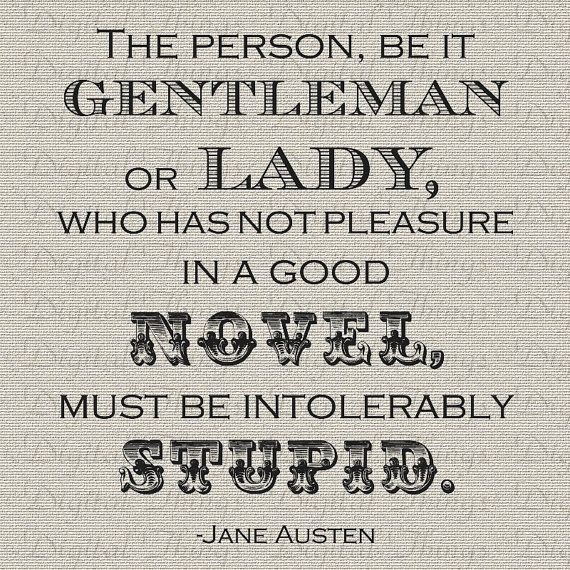 Jane Austen Quote Pride and Prejudice Digital Download for Iron on Transfer