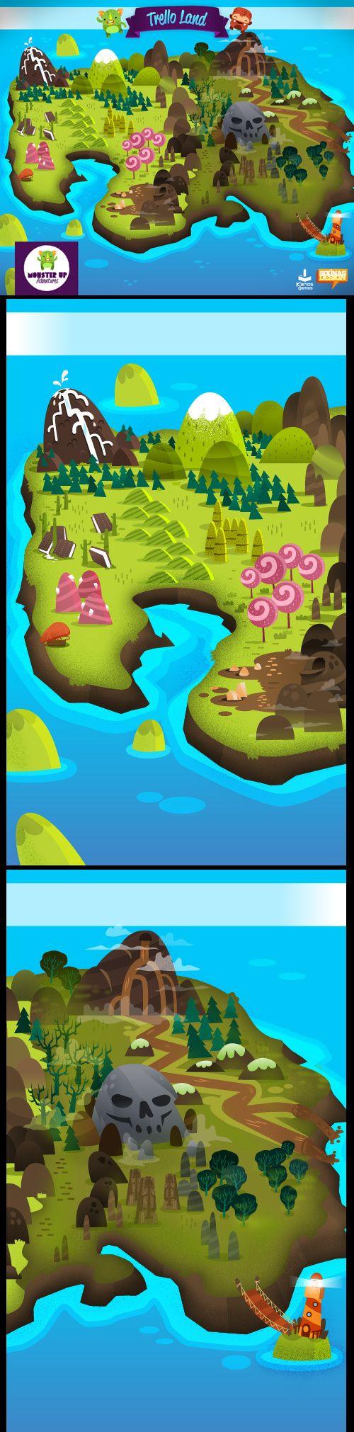 :::MonsterUp Adventures - Game Graphics::: by Ilias Sounas, via Behance