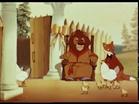 Лиса-строитель. Советский мультфильм. Басня И.А. Крылова.