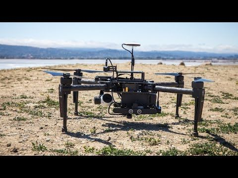 DJI M100 with Collision Avoidance System - YouTube