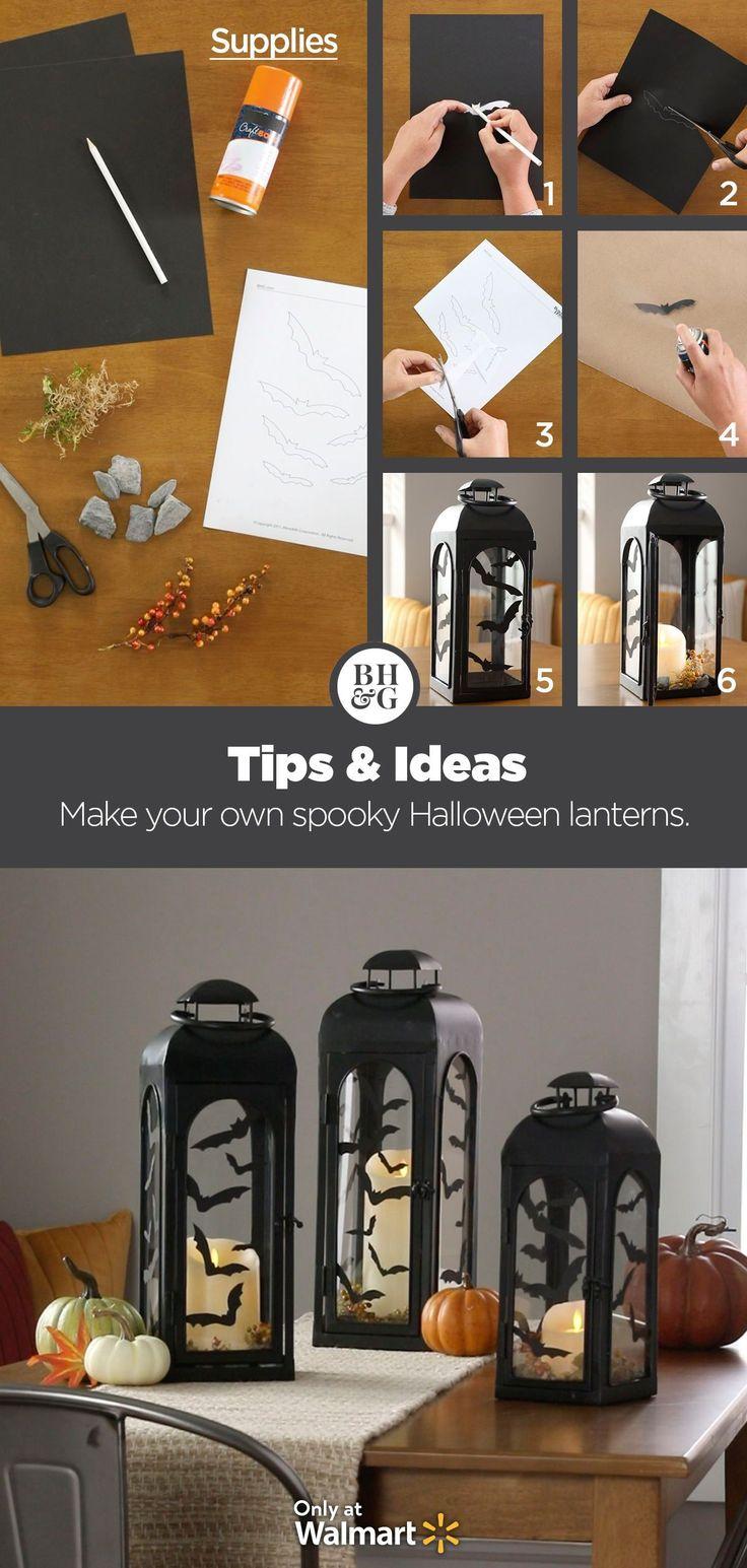 Better homes gardens black lantern black