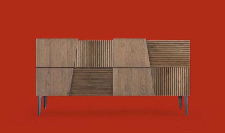 Per un ambiente notte di gusto contemporaneo, #mobile della tradizione rivisitato assecondando le più aggiornate tendenze di #design. Come il letto e i comodini in #legno massello, riprende  gli stilemi tipici della collezione Zero.16 #comò #draver #wood
