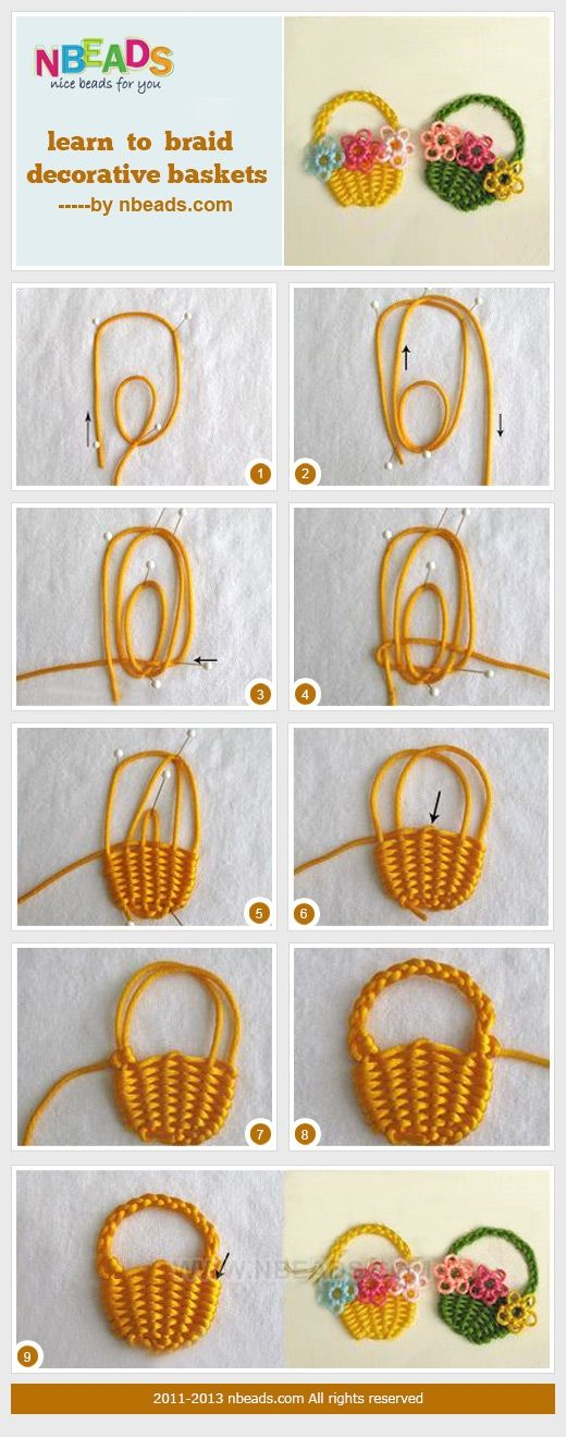 Learn to Braid Decorative Baskets – Nbeads