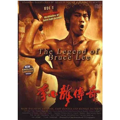 Legend of Bruce Lee #1 movie DVD Danny Chan, Michelle Lang jeet kune do action