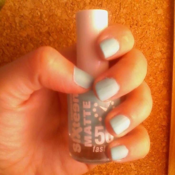 My Sixteen Matte Light Blue