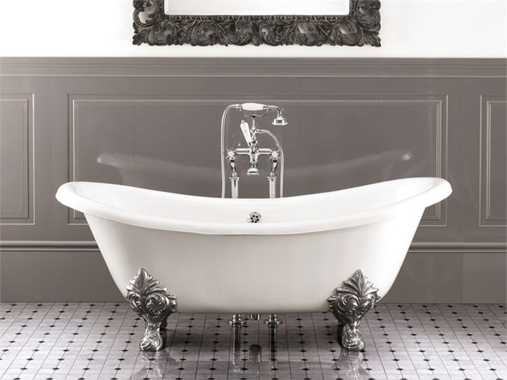 cast iron bathtub chrie by