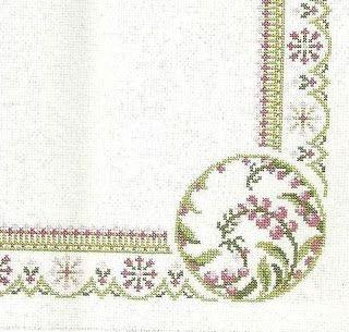 Victoria - Handmade Creations : Τραπεζομάντηλα για κέντημα στις αποχρώσεις του λιλά