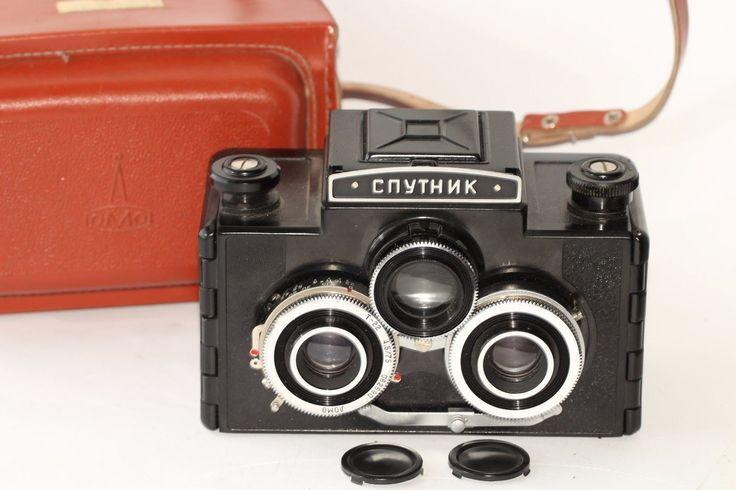 Lomo sputnik vintage medium format #stereo #camera 120 roll film russian #n062690,  View more on the LINK: http://www.zeppy.io/product/gb/2/122226979047/