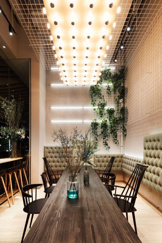 GAGA Cafe At Wongtee Plaza. Cafe InteriorsRestaurant ... Amazing Ideas