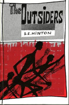 Quot The Outsiders Quot By S E Hinton S Original Cover Art From