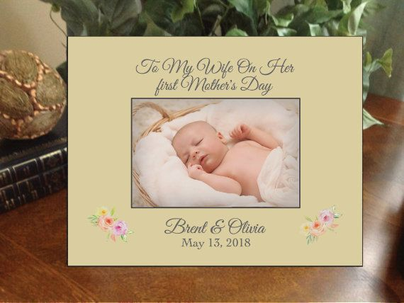 Personalized Mother S Day Frame Any Message Picture Frame First Mother S Day Happy Mother S Day Gra Personalized Mothers Happy Mothers Day First Mothers Day