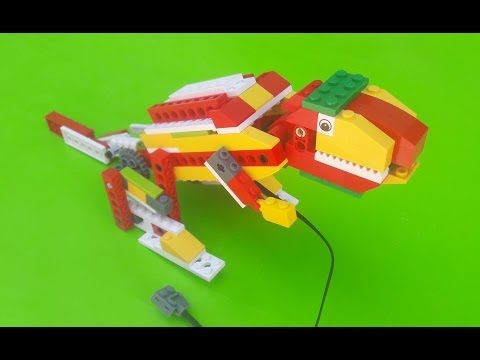 Robotica educativa lego wedo sapo - YouTube