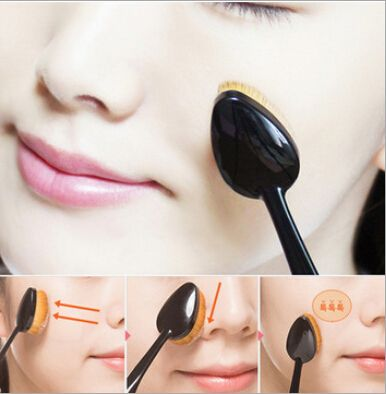 Toothbrush Styling Makeup Brushes Professional Foundation Powder Brush Multipurpose Maquiagem Kit