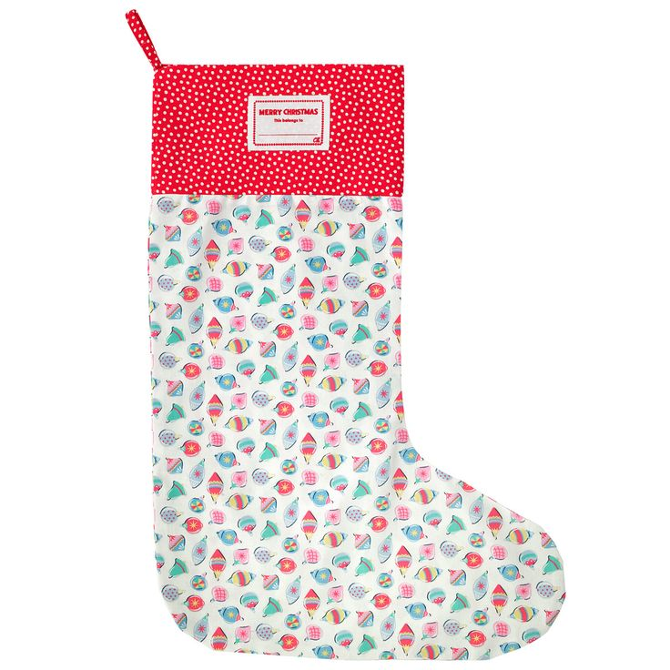 Christmas Baubles Christmas Stocking   View All   CathKidston
