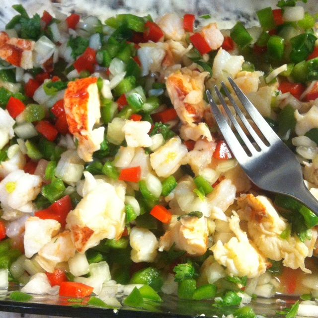 Shrimp/lobster ceviche | Delish! | Pinterest
