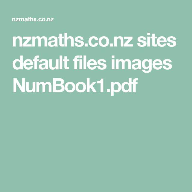 nzmaths.co.nz sites default files images NumBook1.pdf