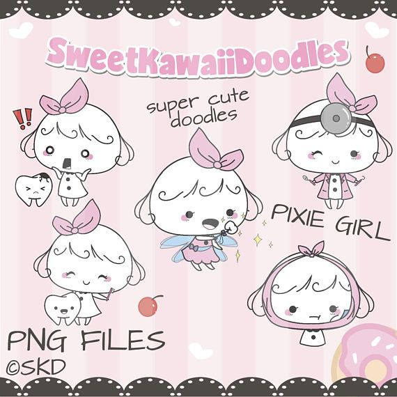 Check out Dentist Clipart,Tooth Clipart,Girl Clip Art,Digital Clipart,Commercial Use,Instant Download,Digital Paper,Printable Planner Stickers on sweetkawaiidoodles