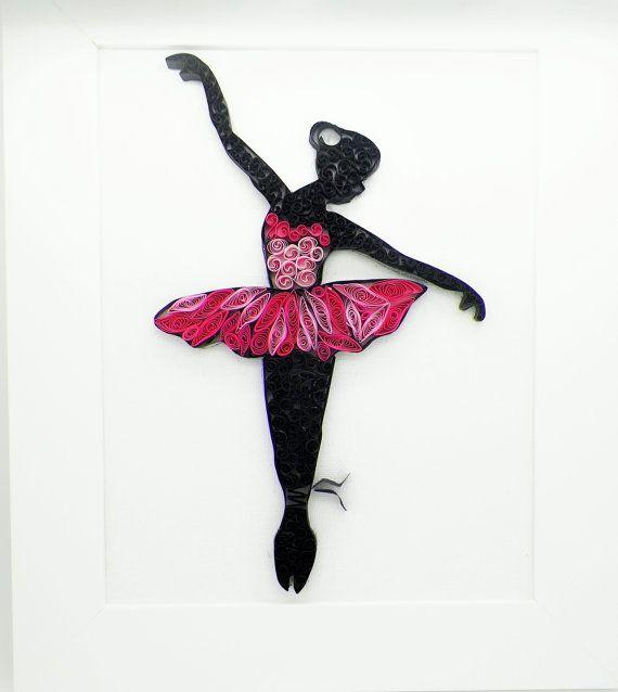 квиллинг открытки гимнастика балерины уже
