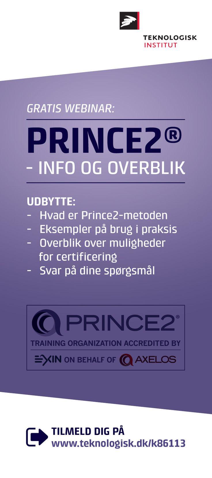 Få viden om PRICE2-metoden med dette gratis webinar.