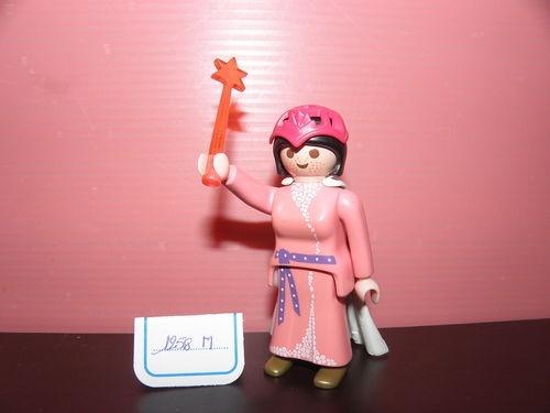 Superbe Princesse Du Château De Princesse Et Sa Baguette Magic PLAYMOBIL 1207T