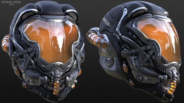 Helmet Concepts - Ryan Love