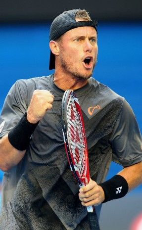 Lleyton Hewitt, our Aussie tennis champion retires 2016. Claiming his first title at 16, becoming the ATP's youngest ever world No.1 in 2001, some of the game's most famous five-set victories are his and he has contested more marathon matches than any other man in the Open Era. Lleyton Hewitt in action at Australian Open 2015; Getty Images