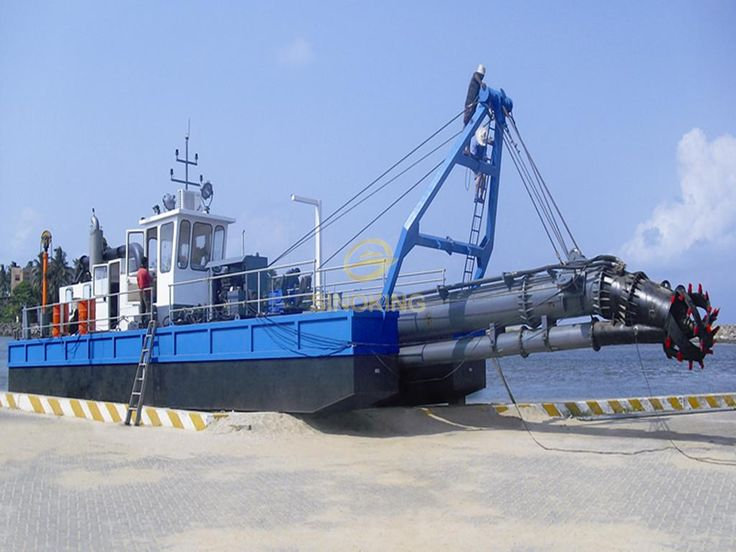 14 inch cutter suction dredger
