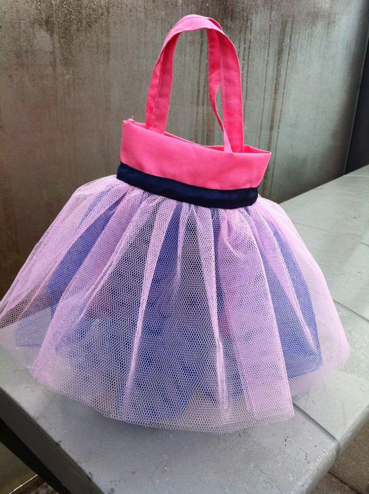 Een tutu tasje /bag voor een klein meisje ❤