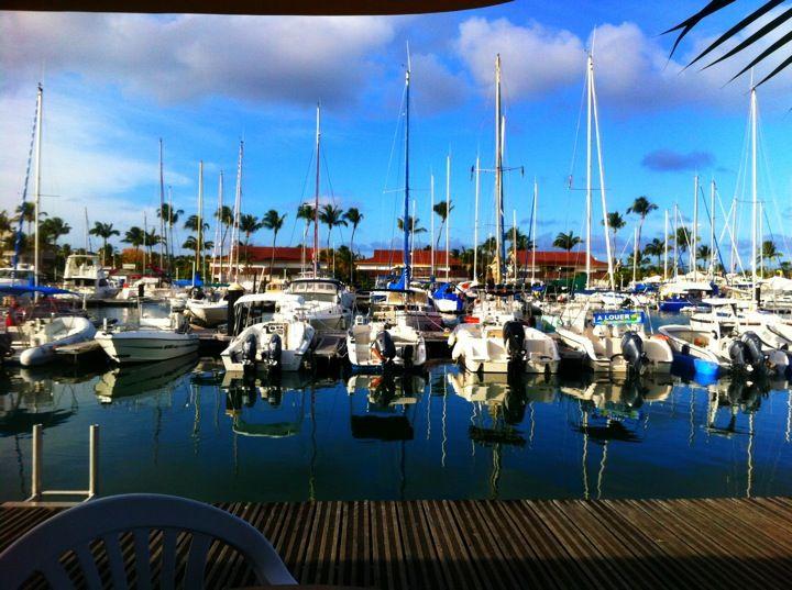 Saint-Francois ve městě Guadeloupe