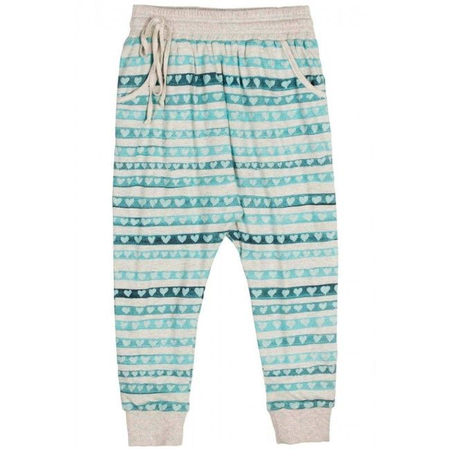 Reversible Trackies- Heart Stripes